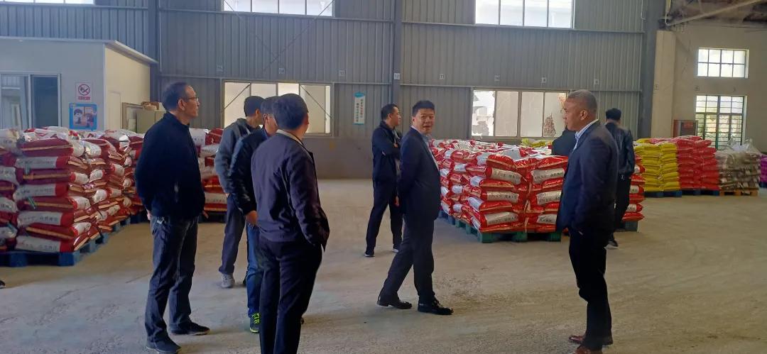 農牧科技市場部對三家飼料供應商進行實地考察