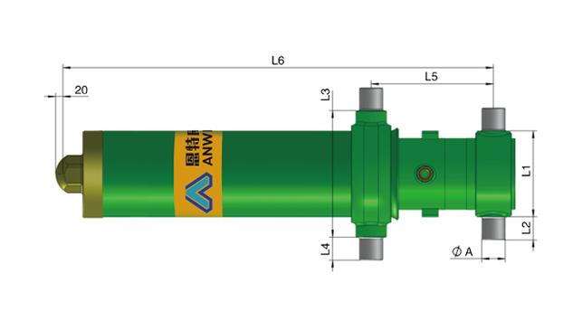 阿爾法系列套筒液壓缸常規型號