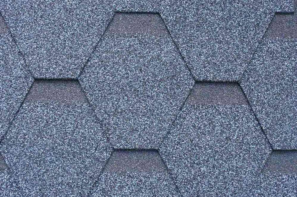 六角形彩色玻纤胎沥青瓦