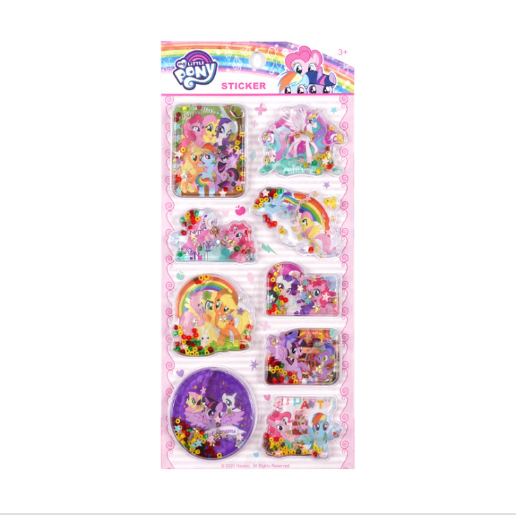 MP-C My Little Pony Oil Filling Sticker