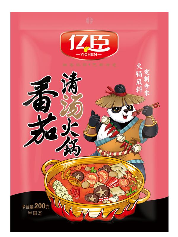 億臣番茄清湯火鍋200g