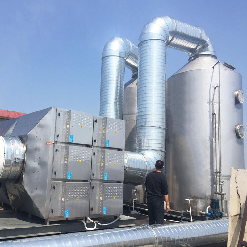 化纖廠油煙處理案例
