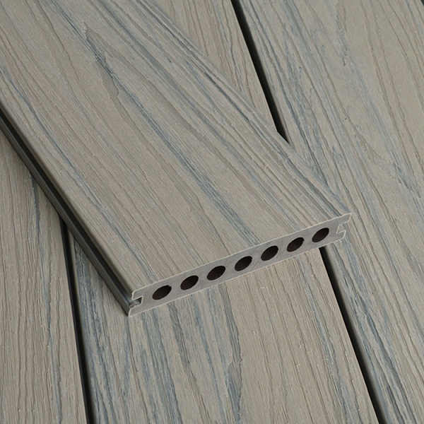 WPC Co-extrusion Decking W140*T21mm Ancient Wood