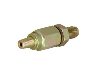 Check valve connectors