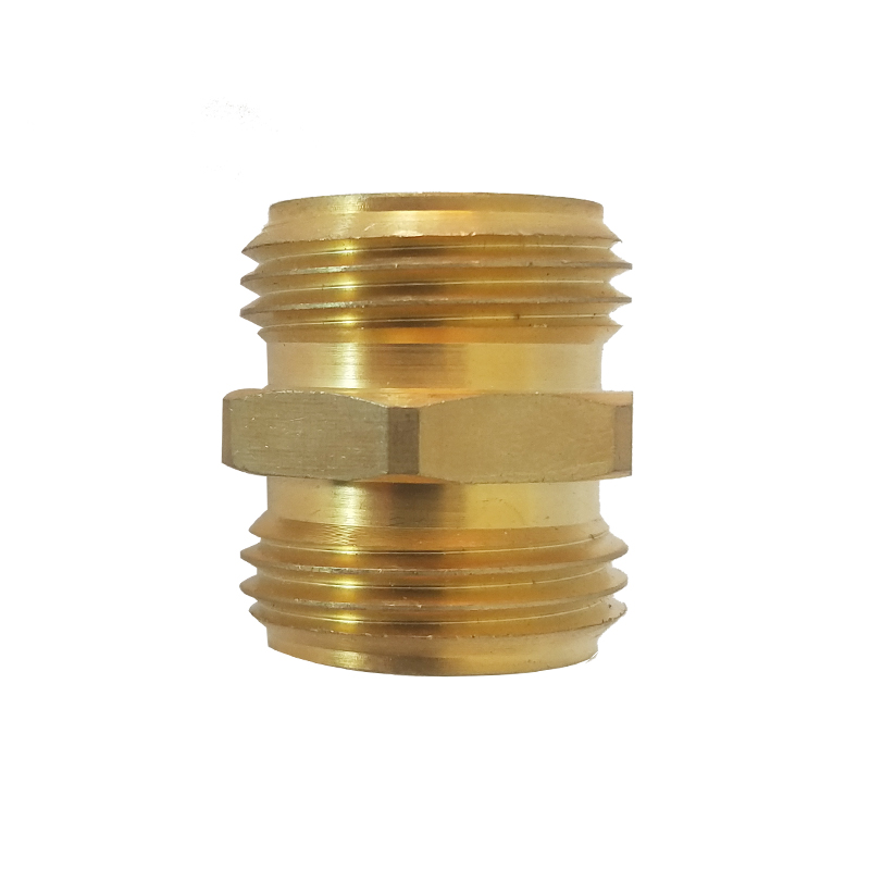 3/4 in. Brass Threaded Male Hose Coupling
