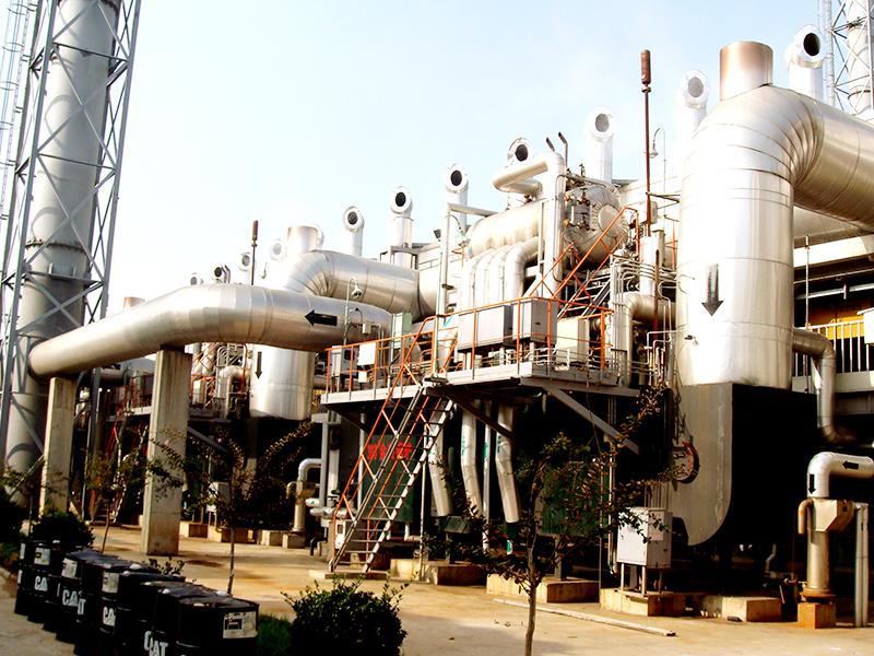 發電廠尾氣利用系統