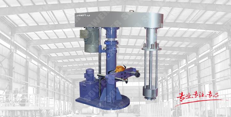 SMA Series hydraulic basket grinding machine