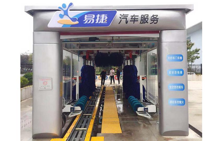 9刷隧道式洗車機(帶輪轂刷)