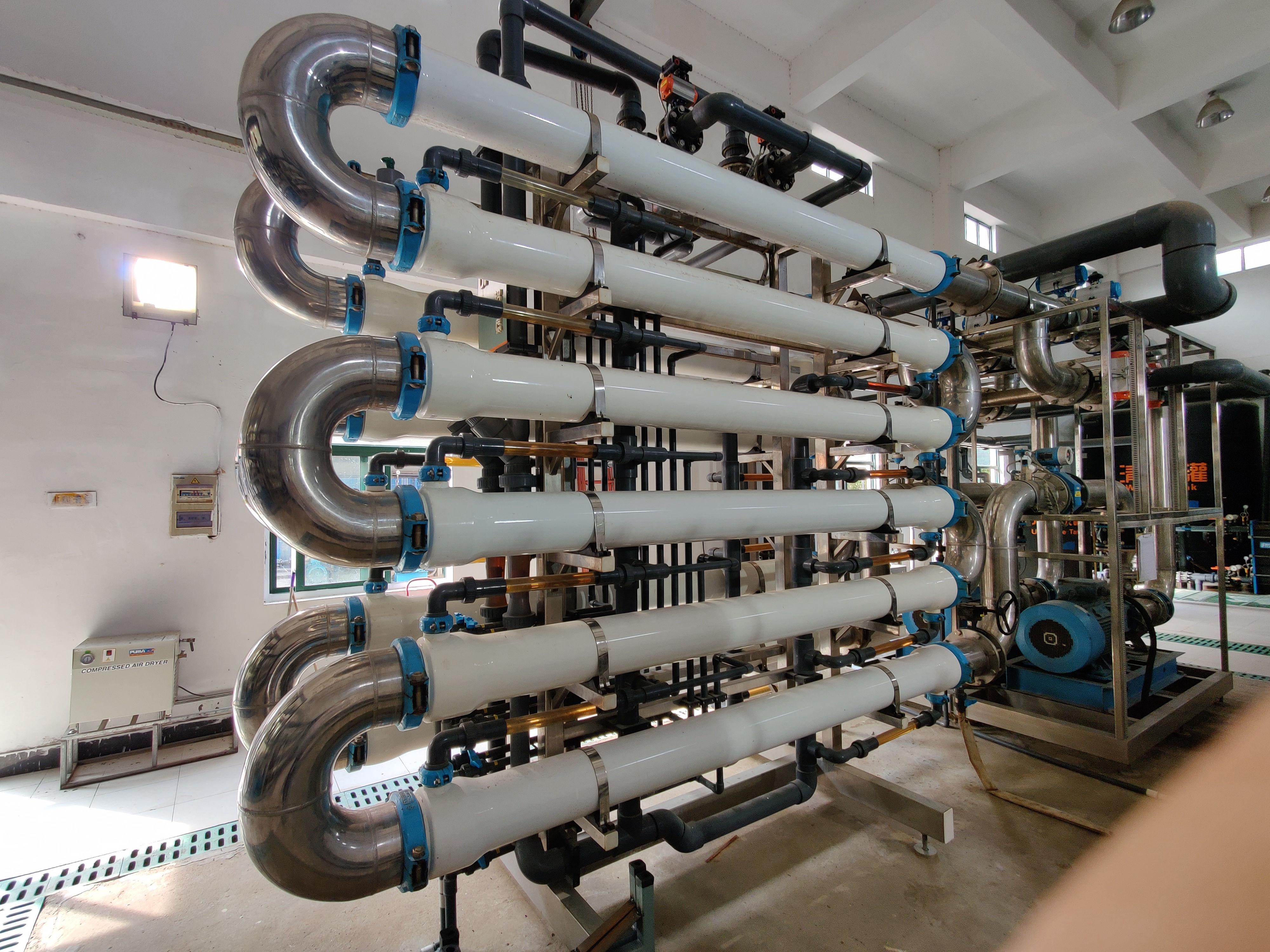苦咸水反滲透集成設備