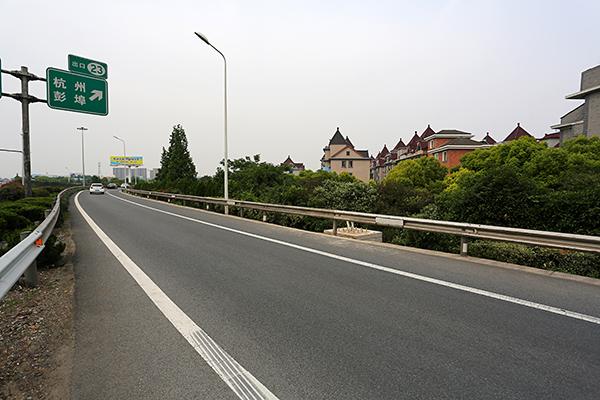 钱江二桥连接线蚌埠互通