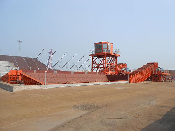 連云港港墟溝東泊位區和廟嶺散貨泊位區堆場工藝連接工程刮板給料機8