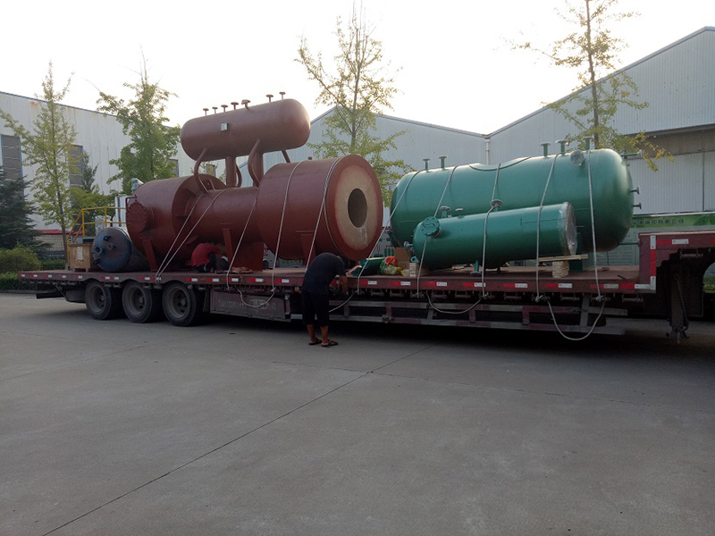 Waste acid waste heat boiler delivery