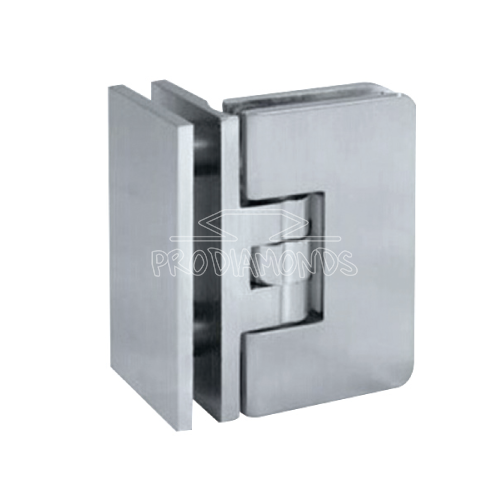 adjustable clicking hinge glass to glass 90 degree