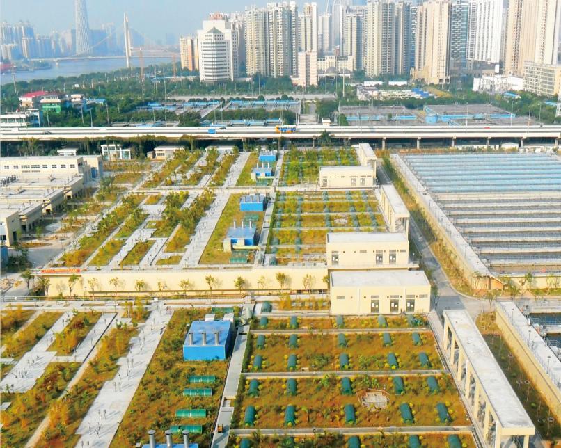 廣東省廣州市獵德污水(56萬噸日處理)安裝工程(國內第二大污水處理廠)