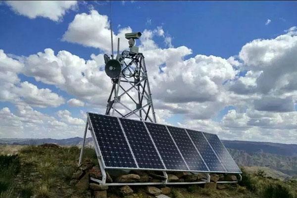 森林防火太陽能監控解決方案