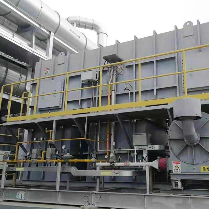 印刷廠RTO廢氣處理案例