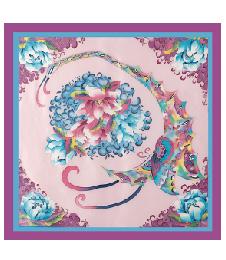1-1手繪大方巾-06花團錦簇