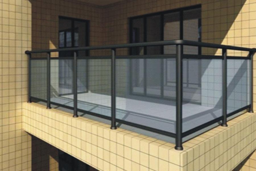 铝合金玻璃栏杆