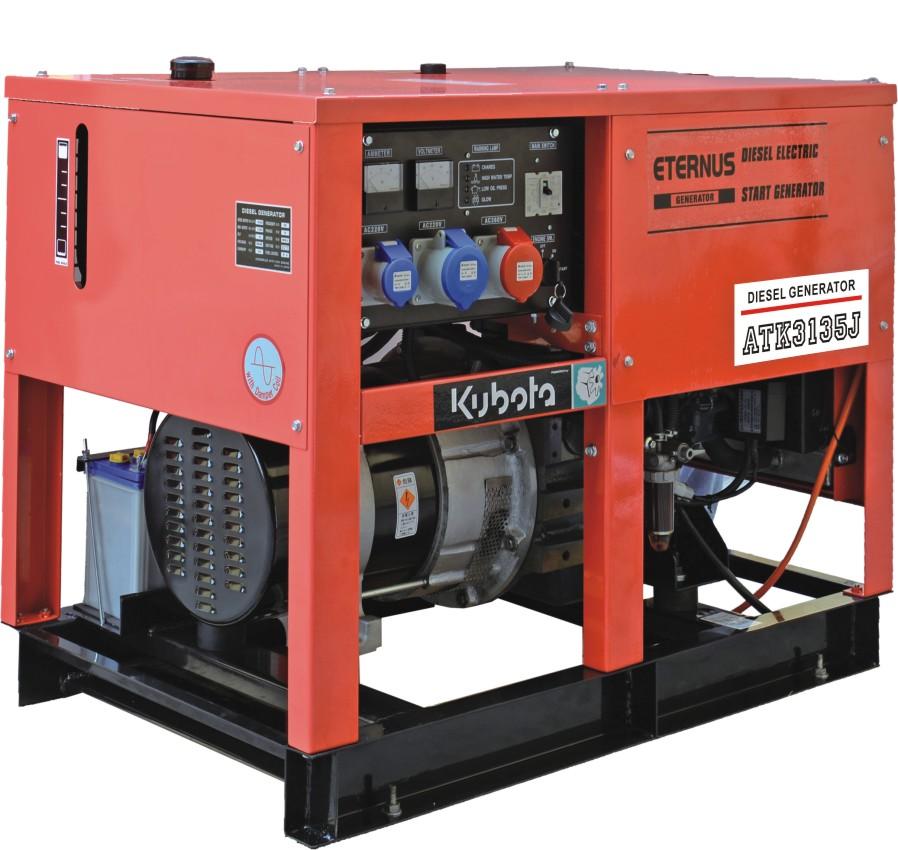 開架式水冷柴油發電機