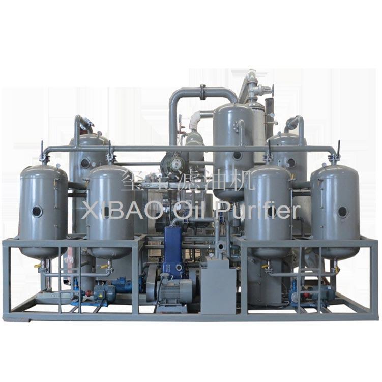 WTB廢油蒸餾提煉基礎油設備