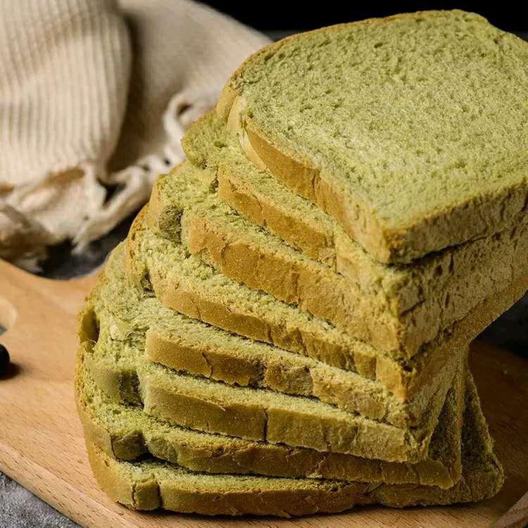 麦青吐司面包