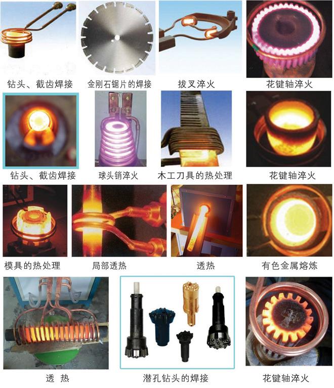 加熱設備部分應用實例