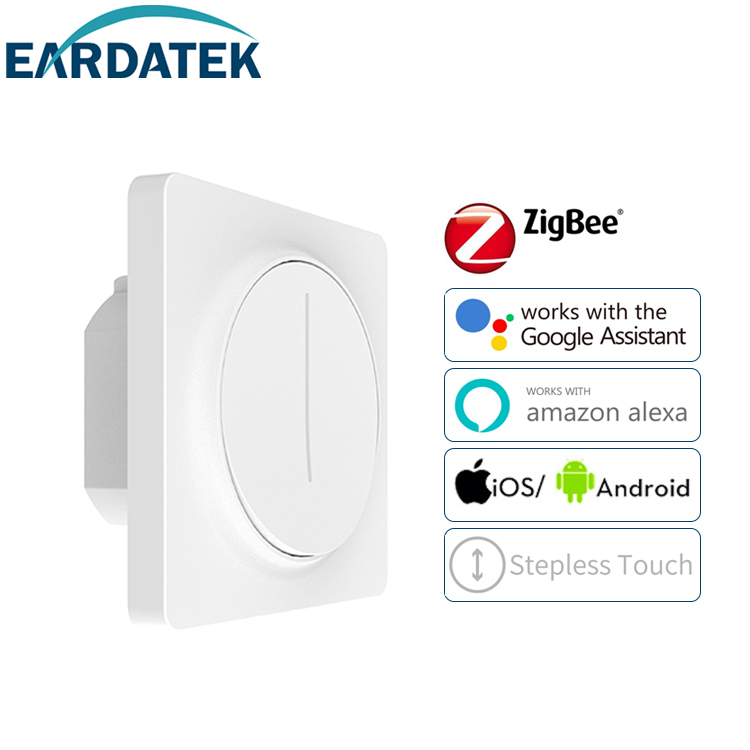 Touch smart dimmer switch Zigbee Neutral required EU standard