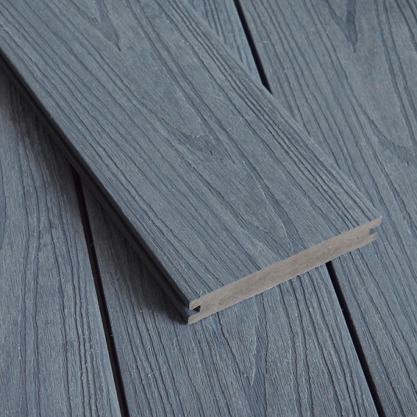 WPC Co-extrusion Decking W138*T23mm Light Gray