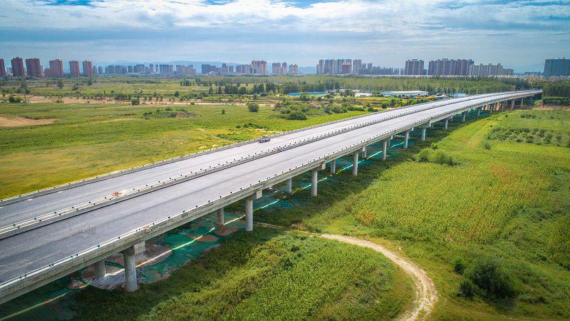 高陵区店子王泾河大桥