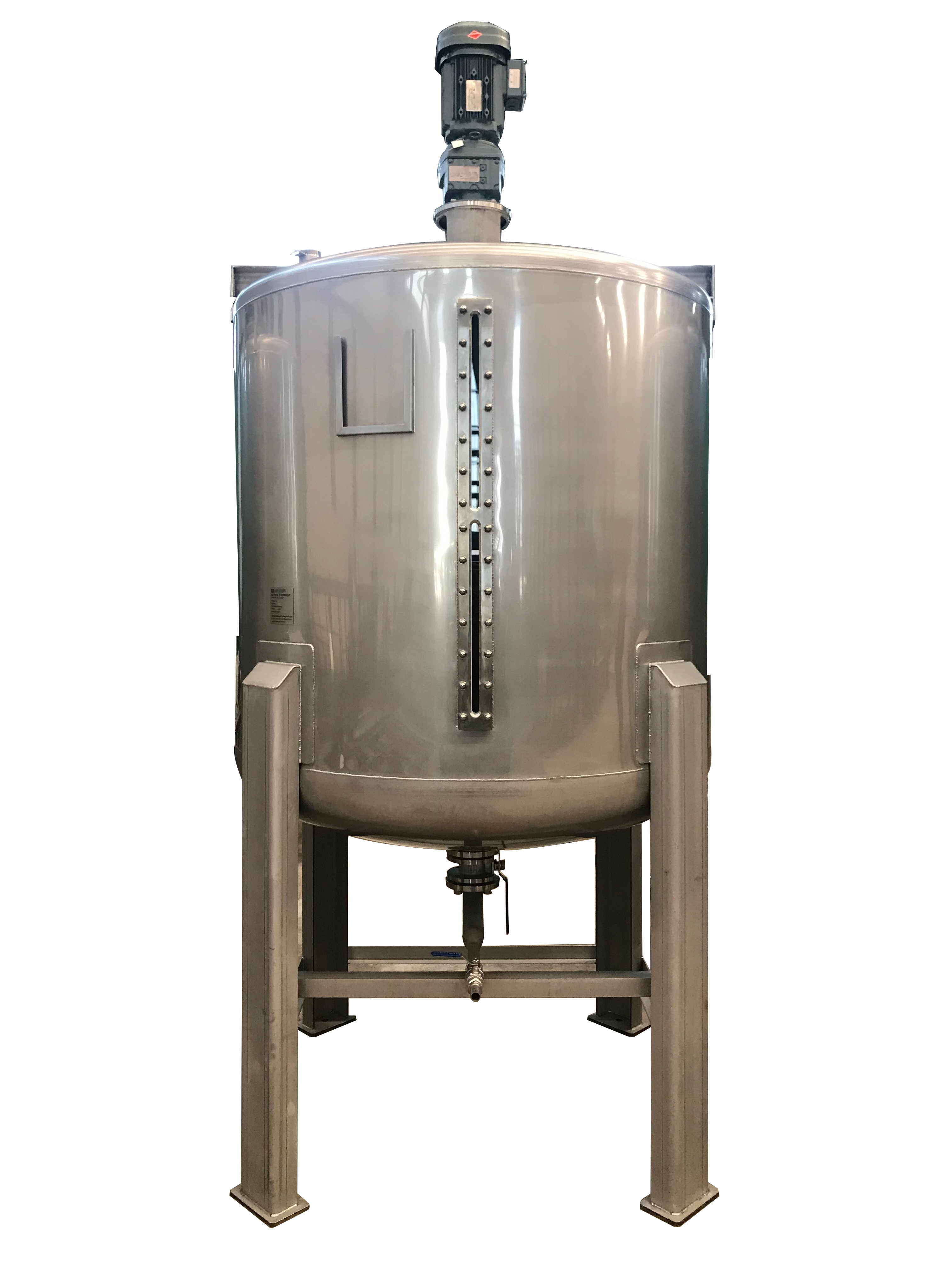 2000L Stainless steel mixing blend tank