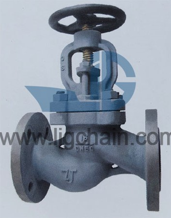 GBT 585 Marine Cast Steel Flanged Stop Check Valves