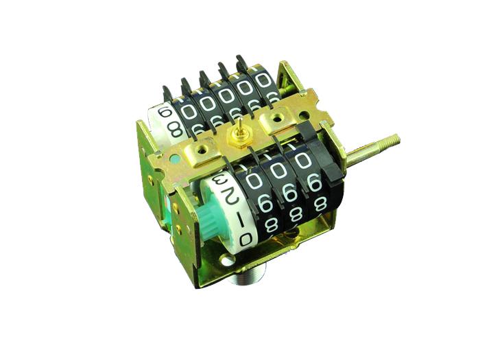 磁感应式劲豹里程机芯