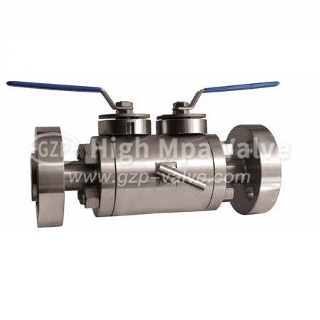 stainless steel API ball valve