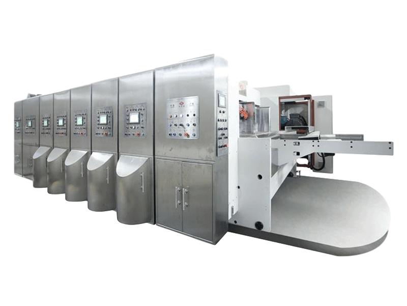 K6-型電腦控制水性印刷開槽模切機