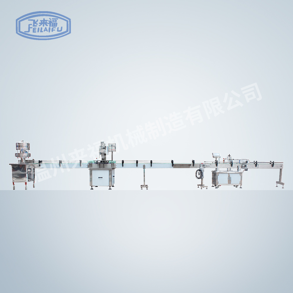 12-head filling machine + capping machine + labeling machine