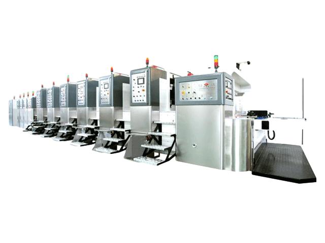 K8-型固定式自動印刷開槽模切機