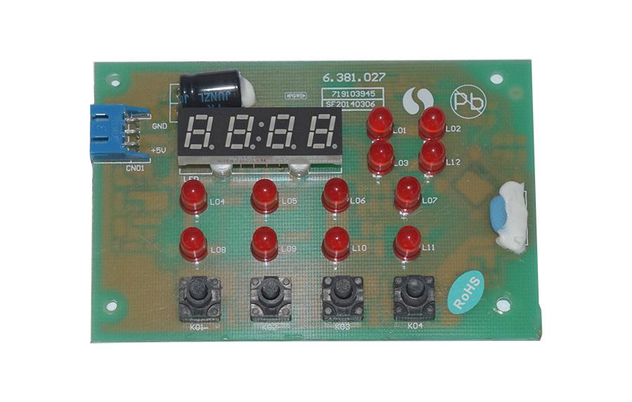 智能水處理閥門控制器LED指示燈顯示板