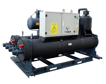 industrial water cooled heat pump
