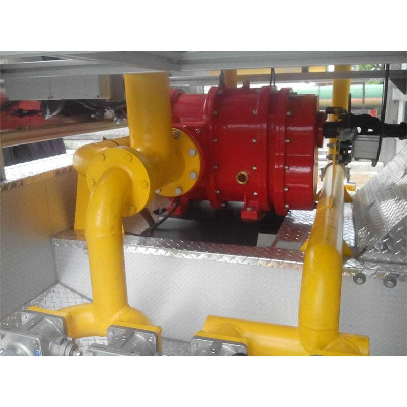 消防泡沫液轉子泵車
