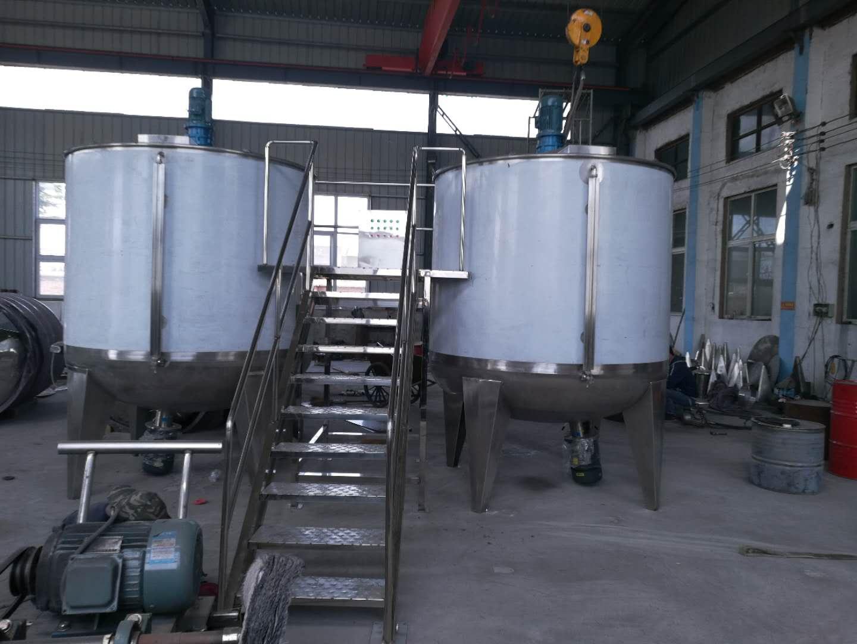 開封客戶日產40噸洗衣液流水線
