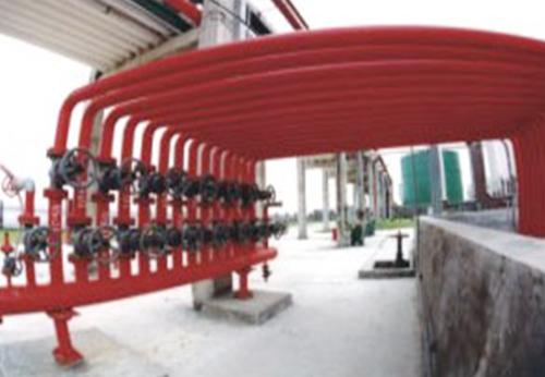 陕西储备物资管理局159处改扩建工程消防阀门组设施
