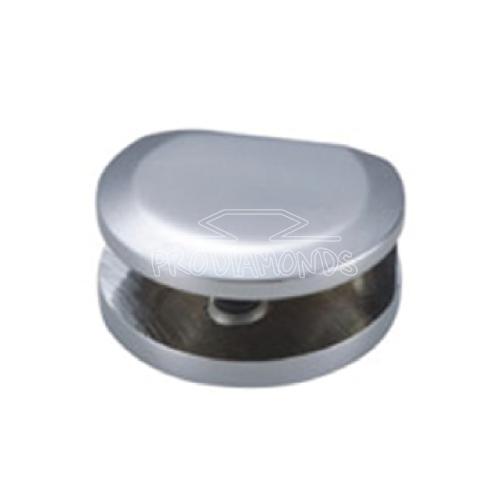 Shower interior shelf clamp