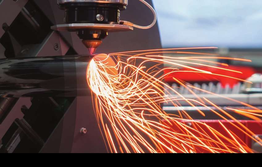 On the application of laser blanking line in automobile plate
