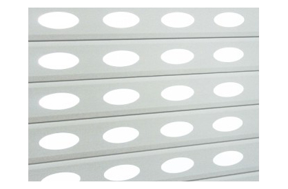 77冲孔(圆形)铝型材帘片