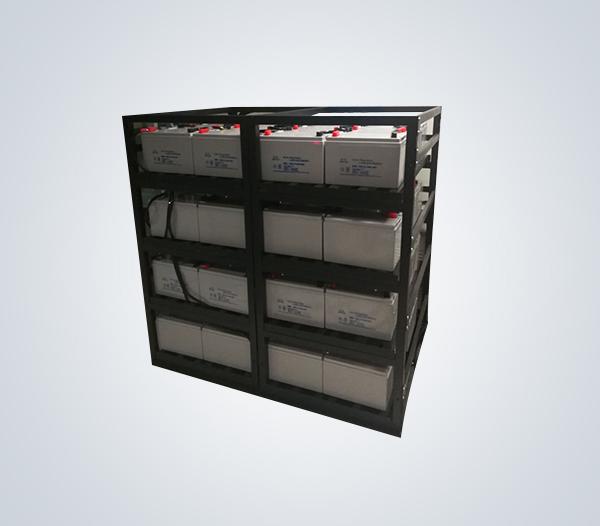 匯利電器 定制100AH,200AH拼裝電池架 蓄電池鋼架 工廠制造