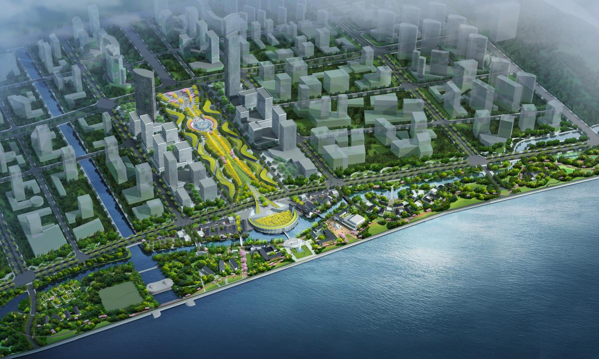 錢江世紀城安全生態帶(沿江景觀帶)