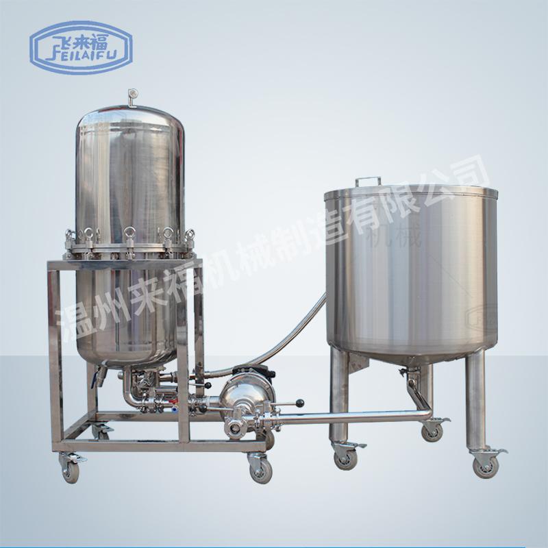 立式400過濾機帶循環桶