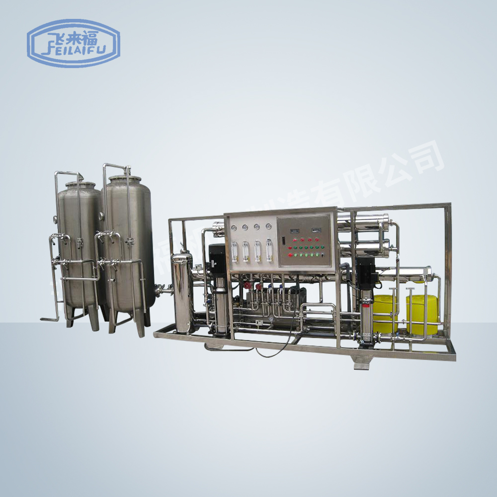 2 tons of two-stage medical purified water equipment