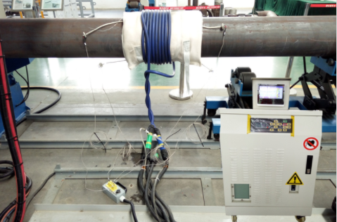 Post Welding Heating Treatment Device