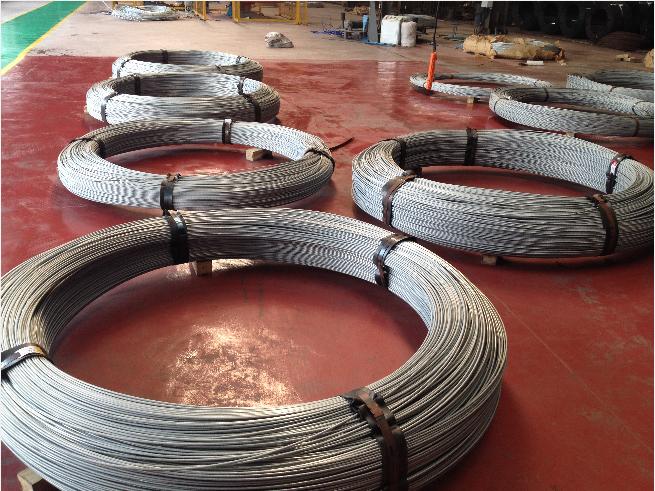 桥梁缆索用热镀锌钢丝